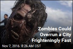 Zombies Could Overrun a City Frighteningly Fast