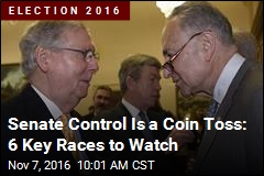 Senate Control Is a Coin Toss: 6 Key Races to Watch