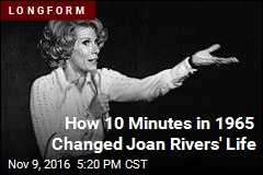 How 10 Minutes in 1965 Changed Joan Rivers' Life