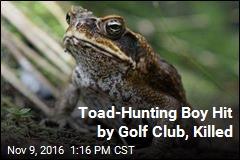 Toad-Hunting Boy Hit by Golf Club, Killed