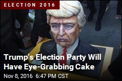 Trump Cake Is Frosting on Election for Internet Memes