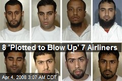 8 'Plotted to Blow Up' 7 Airliners