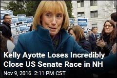 Kelly Ayotte Loses Incredibly Close US Senate Race in NH