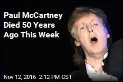 Paul McCartney Died 50 Years Ago This Week