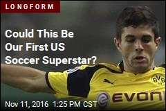 Could This Be Our First US Soccer Superstar?