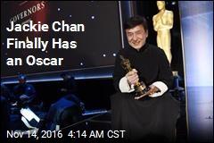 Jackie Chan Finally Has an Oscar
