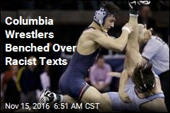 Columbia Wrestlers Benched Over Racist Texts