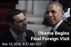 Obama Begins Final Foreign Visit