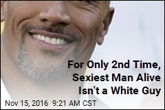 For Only 2nd Time, Sexiest Man Alive Isn't a White Guy