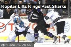 Kopitar Lifts Kings Past Sharks
