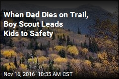 When Dad Dies on Trail, Boy Scout Leads Kids to Safety