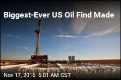 Biggest-Ever US Oil Find Made