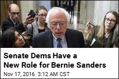 Senate Dems Have a New Role for Bernie Sanders