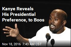 Kanye: I Would Have Voted for Trump