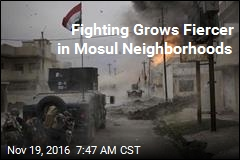Iraqi Troops Face Stiff Resistance in Mosul Neighborhoods