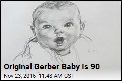 Original Gerber Baby Is 90