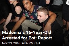 Madonna's 16-Year-Old Arrested for Pot: Report