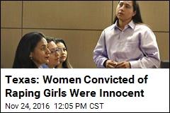 'San Antonio 4' Declared Innocent of 1994 Gang-Rape