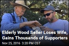 Elderly Wood Seller Loses Wife, Gains Thousands of Supporters