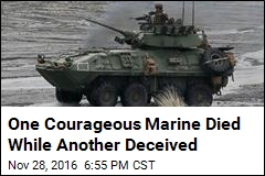 How a Marine Stole Another's Accomplishments, Valor
