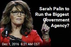 Sarah Palin 'Being Considered for VA Secretary'