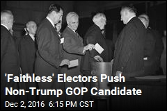 'Faithless' Electors Speaking Up, Reaching Out to Stop Trump