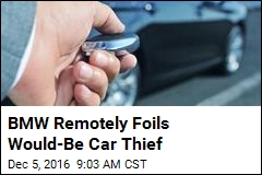 BMW Remotely Foils Would-Be Car Thief
