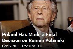 Roman Polanski Won't Be Extradited From Poland