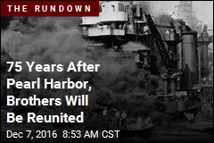 75 Years After Pearl Harbor, Brothers Will Be Reunited