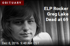 ELP Rocker Greg Lake Dead at 69