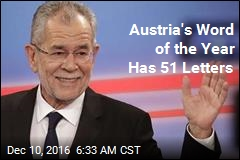 Austria's Word of the Year Has 51 Letters