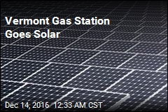 Vermont Gas Station Goes Solar