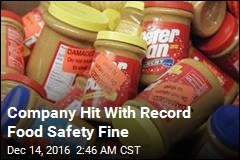Company Hit With Record Food Safety Fine
