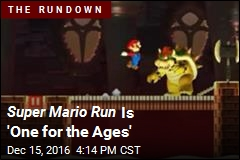 Super Mario Run Is 'One for the Ages'
