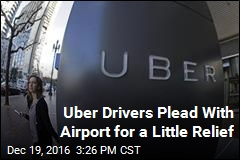 Uber Drivers Tired of Peeing in Bottles