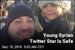 Young Syrian Twitter Star Is Safe