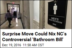 NC May Repeal Controversial 'Bathroom Bill' Tuesday