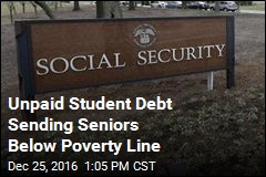 Unpaid Student Debt Sending Seniors Below Poverty Line
