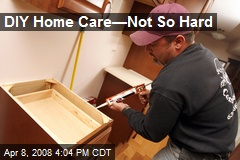 DIY Home Care—Not So Hard