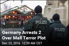 Germany Arrests 2 Over Mall Terror Plot