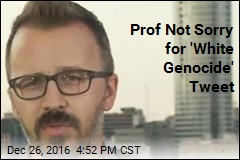 Drexel Prof: 'White Genocide' Tweet Was Satire