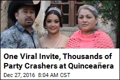 Thousands Turn Up for Quinceañera After Viral Invite