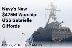Navy's New $475M Warship Named for Shooting Survivor