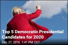Top 5 Democratic Presidential Candidates for 2020