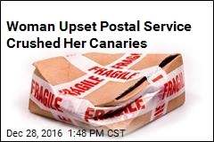 USPS Sorry It Delivered Dead Canaries in Crushed Package