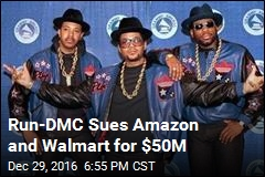 Run-DMC Sues Amazon and Walmart for $50M
