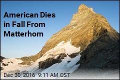 American Dies in Fall From Matterhorn