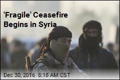 'Fragile' Ceasefire Begins in Syria