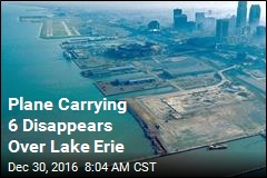 Plane Carrying 6 Disappears Over Lake Erie