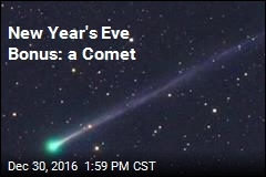 New Year's Eve Bonus: a Comet